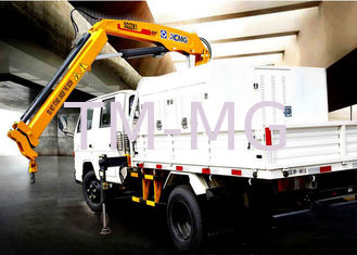 Durable Lifting Knuckle Boom crane truck mounted 7.5m Max Lifting Height