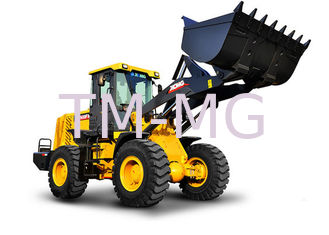 Durable LW400FV small wheel loader Easy Operation And Maintenance